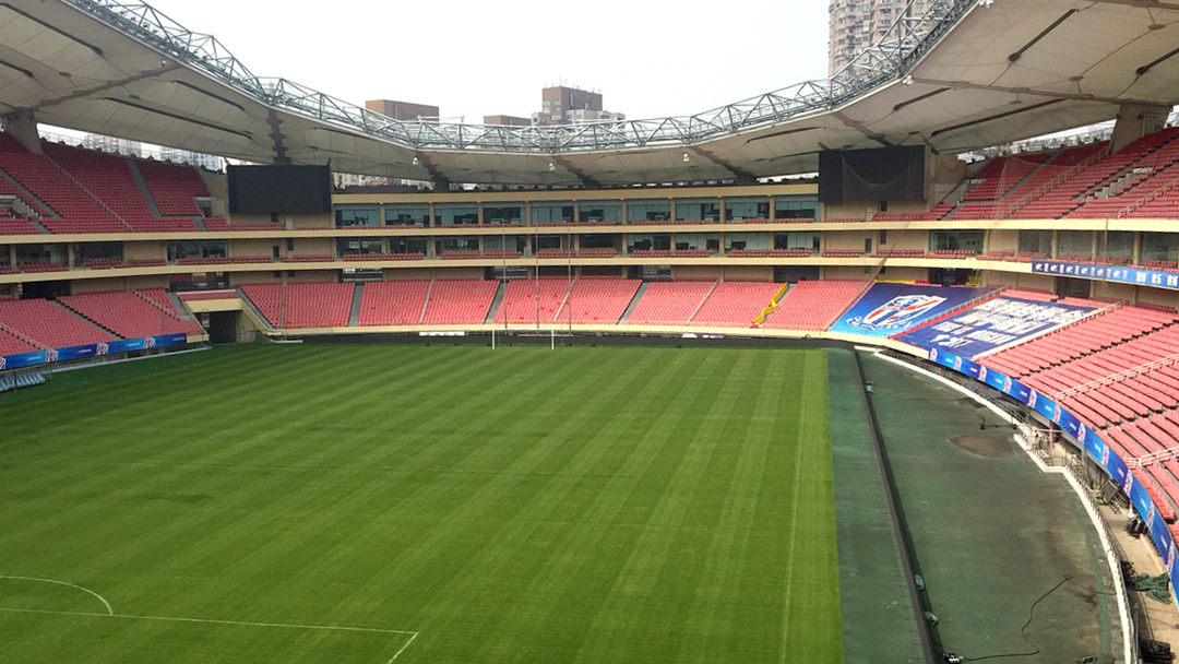 虹口足球场进行主体结构检测 比赛有望照常进行