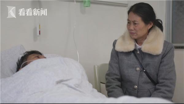 江辉俊确诊感染入院,妻子曾青玉陪伴病床