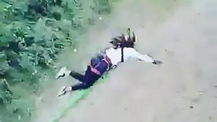 高空蹦极绳子太长出意外 女子竟奇迹生还