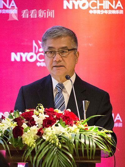 前美国驻华大使骆家辉在去年12月的NYO-China上海启动发布会上