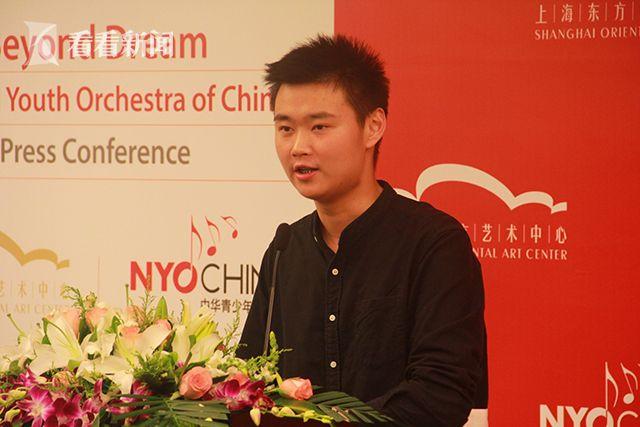 中华青少年交响乐团学生代表(小提琴)谢力源