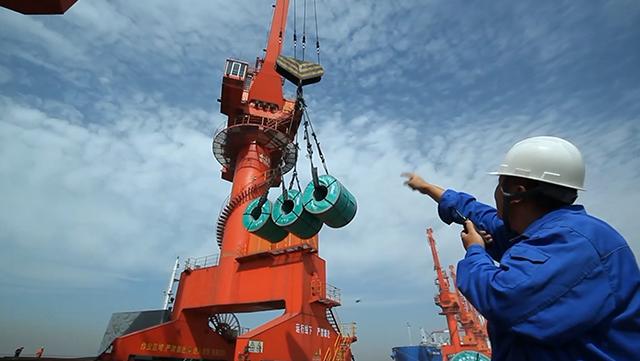 """视频 海关创新举措支持辽宁自贸区建设 """"溢出效应""""辐射东北"""