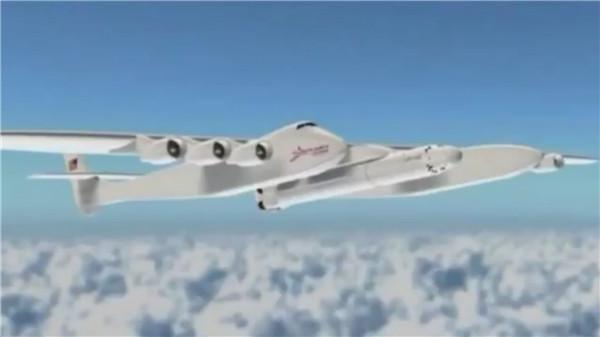 世界最大飞机下线 双机身设计用于空中发射火箭