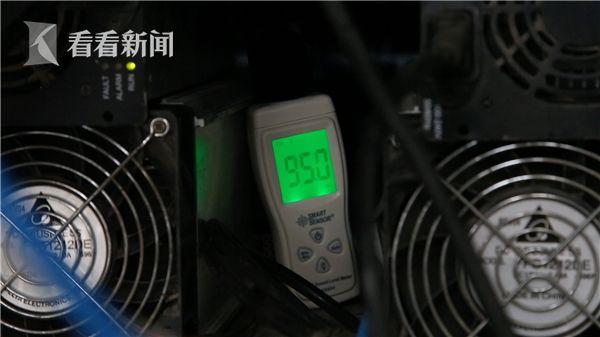 矿场内部噪音接近100分贝
