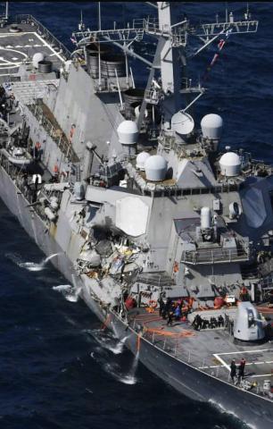 美军估计修复费用高达10亿美元