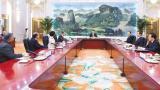 视频|习近平集体会见金砖国家外长会晤外方代表团团长