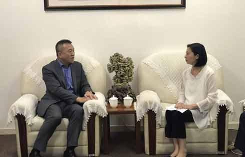 市旅游局局长徐未晚会见嘉年华集团中国区主席