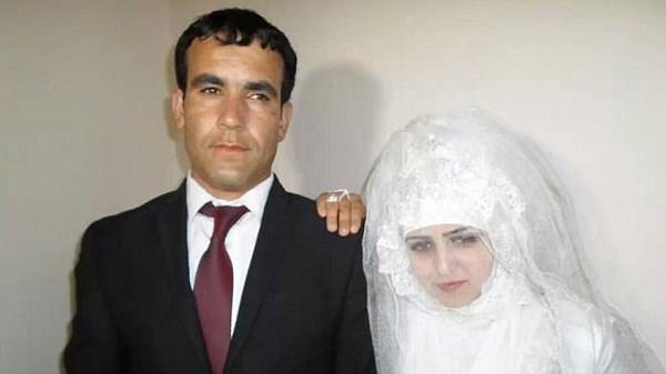 库雪德与皮洛夫的结婚照