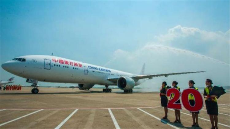 东航迎来第20架B777-300ER飞机 明年起引进最新宽体远程机型