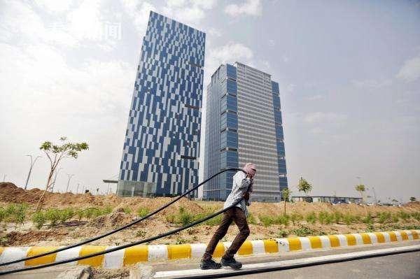 古吉拉特邦国际金融科技城外景