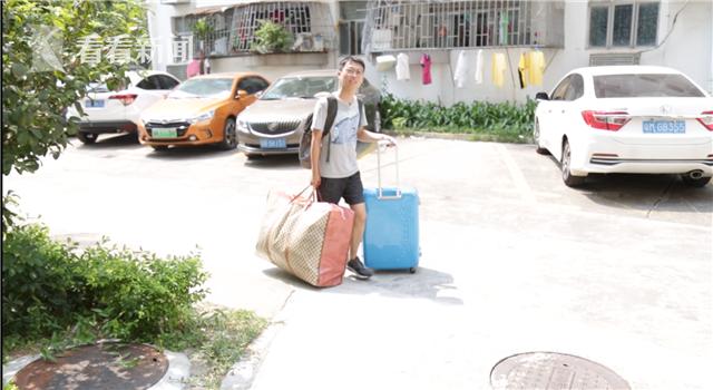 到深圳打拼的海归硕士佀昶,半年内因为合租者换工作而不得不搬家