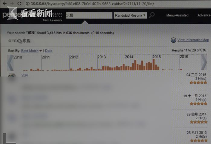 王淼表示乐视员工在人力市场上并不吃香