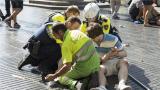 视频|巴塞罗那车撞人群恐袭现场视频公布:大街躺满死伤者血流一地