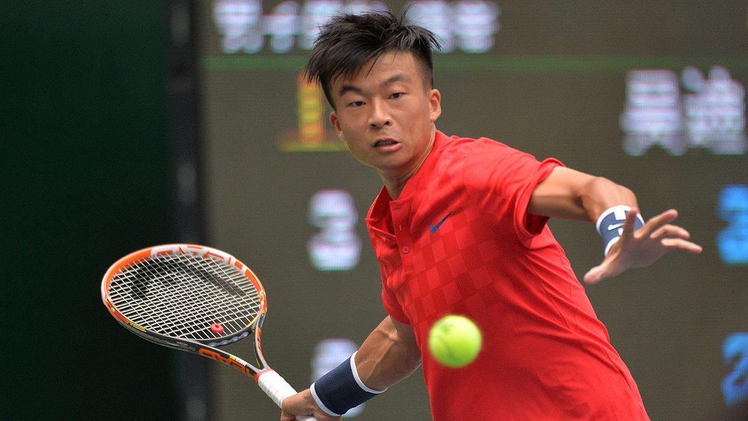 """全运会网球男单 上海""""老将""""吴迪夺三连冠"""
