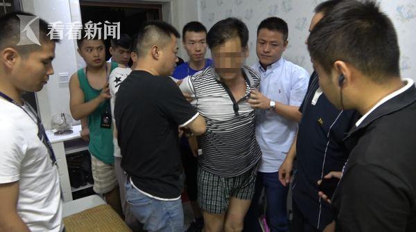 犯罪嫌疑人刘永彪在安徽家中被抓获