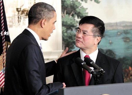 奥巴马和骆家辉