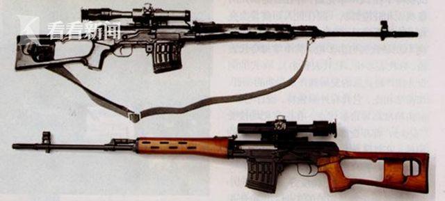 仿自苏联SVD狙击步枪的79/85式狙击步枪,是我国第一代专业狙击步枪