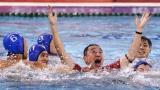 上海男子水球队12年后再度问鼎全运冠军