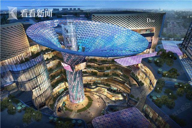 新华红星国际广场效果图