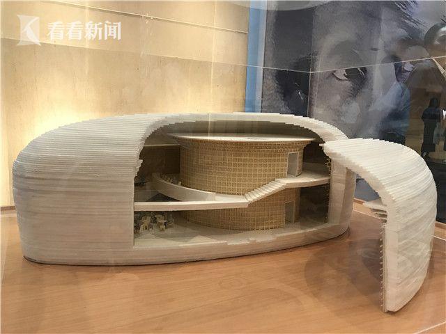 上海明珠美术馆模型