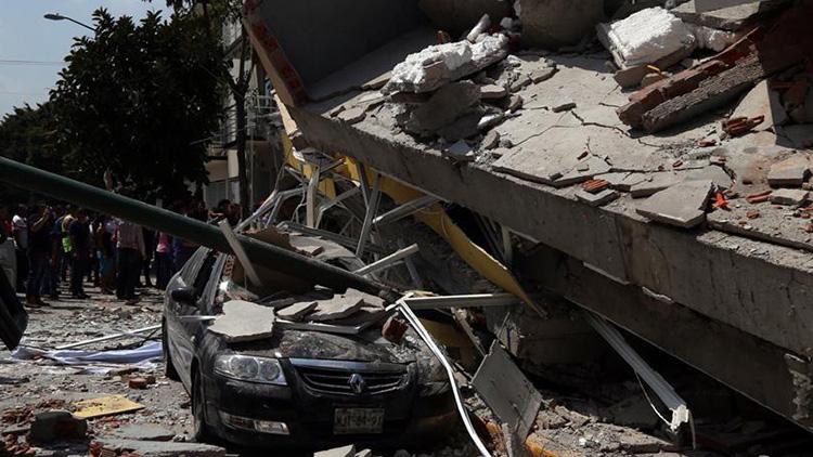 天崩地裂!墨西哥7.1级强震 房屋瞬间倒塌