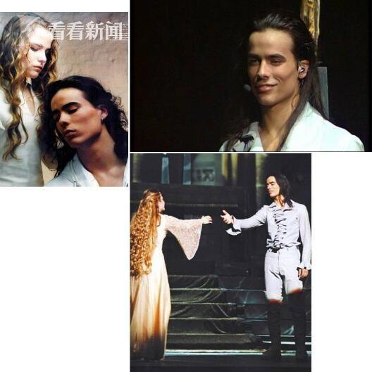 达米安·萨格在音乐剧《罗密欧与朱丽叶》饰演罗密欧