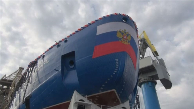 俄罗斯第二艘新型核动力破冰船