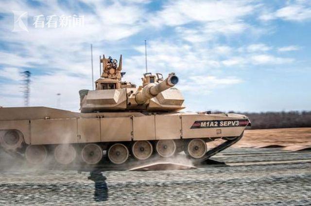 M1A2 SEP V3主战坦克