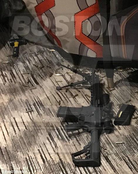 丹尼尔防务公司生产的突击步枪特写