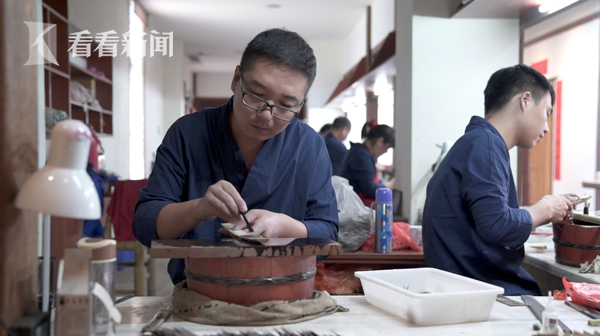 刘增光,拜师仅半年,是淳安堂里年纪最大的小师弟