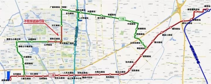 运行线路图