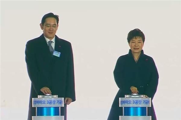朴槿惠和李在镕
