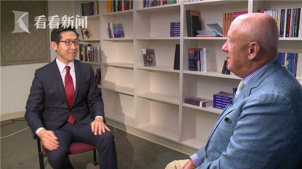 看看新闻Knews记者张经义采访卡内基国际和平基金会研究副总裁包道格先生