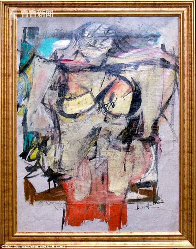 威廉·德·库宁的名画《赭石女人》