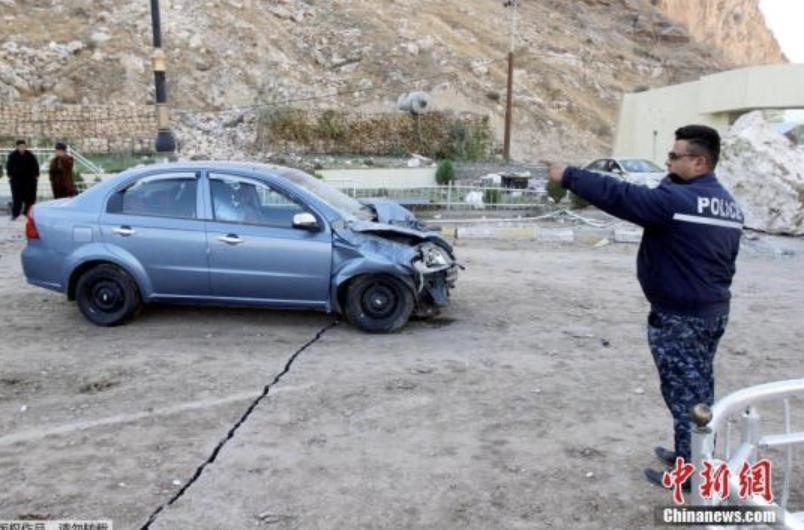 当地时间12日晚9时18分,伊拉克北部苏莱曼尼亚省与伊朗交界地区发生强烈地震。据中国地震台网正式测定,地震震级7.8级,震中位于北纬34.9度、东经45.75度,震源深度20千米。