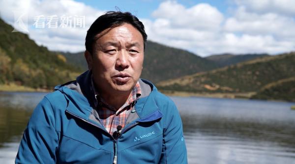 普达措国家公园管理局科长丁文东