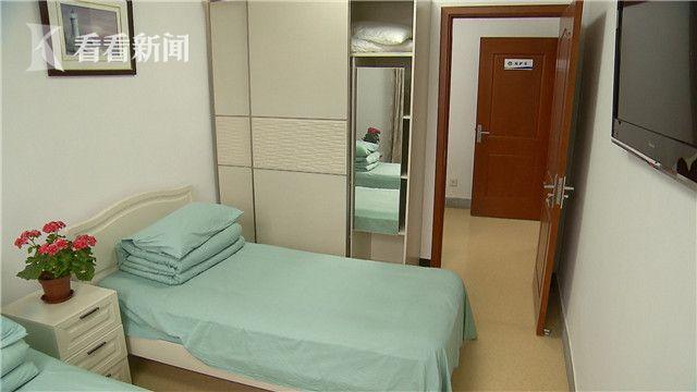 上海市救助站为家暴受害者设立的庇护室