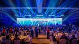 国际泳联年度颁奖礼首次在中国举行 泳坛明星聚集海南三亚