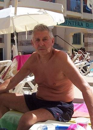 71岁的英国男子戴维