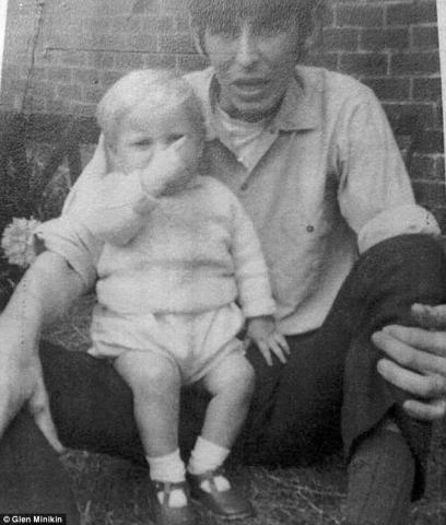 年轻时的戴维和继子保罗