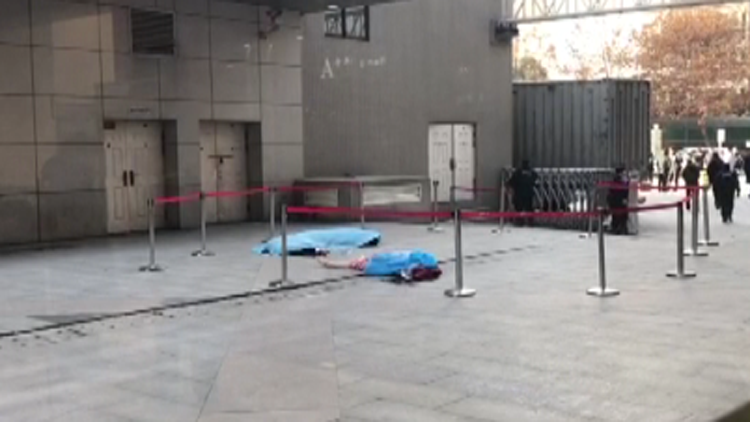 视频|巡逻保安见义勇为欲救跳楼女子 被女子11楼坠下砸中身亡