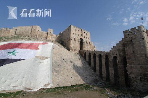 2011年12月 记者拍摄的阿勒颇古城