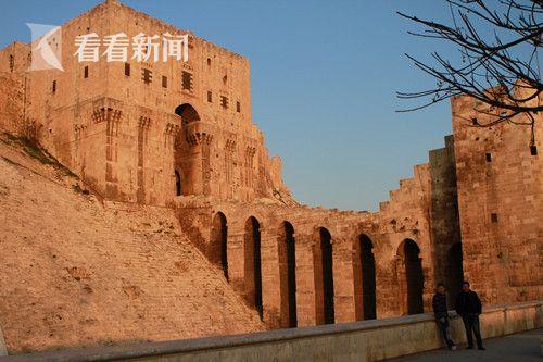 六年前的此刻,阿勒颇古堡还是一个著名景点