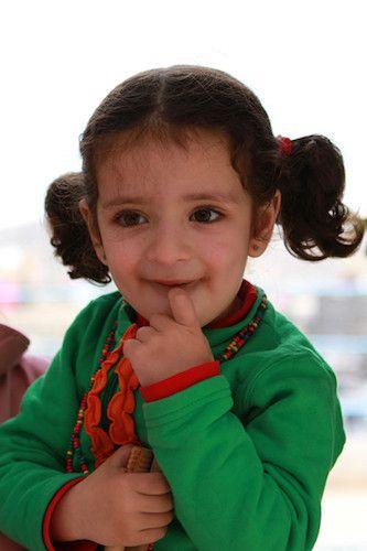 2011年12月记者在大马士革拍摄的叙利亚孩子