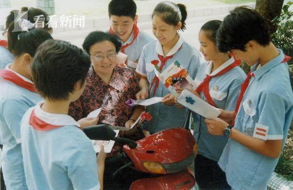 黄老师与她的学生们