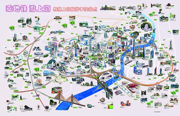 曹玉良的手绘地图