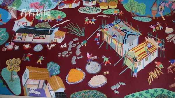 安居乐业图》里建新房的场景.jpg