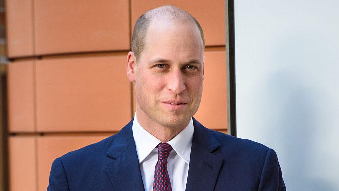 威廉王子头顶剃光 新发型花费180英镑