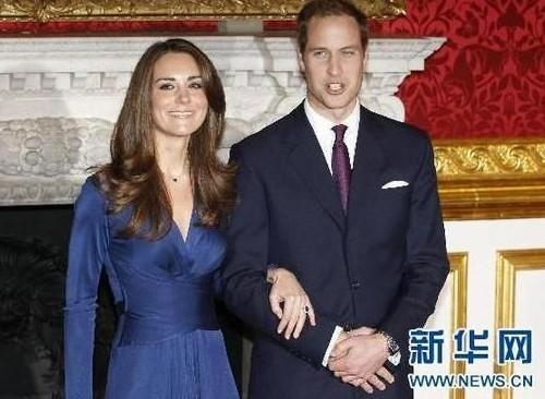 威廉和凯特的订婚典礼,拍摄于2010年