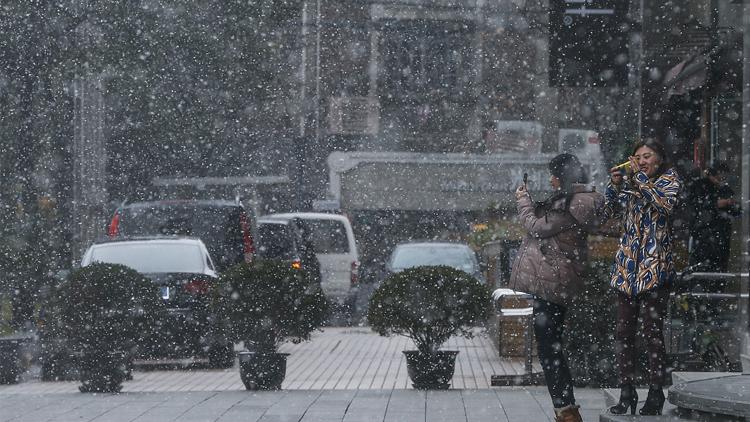 较强冷空气影响中东部 上海本周有持续雨雪天气